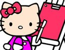 Colorindo a Hello Kitty
