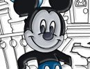 Colorindo o Mickey Mouse