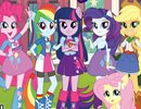 Números Escondidos Equestria Girls